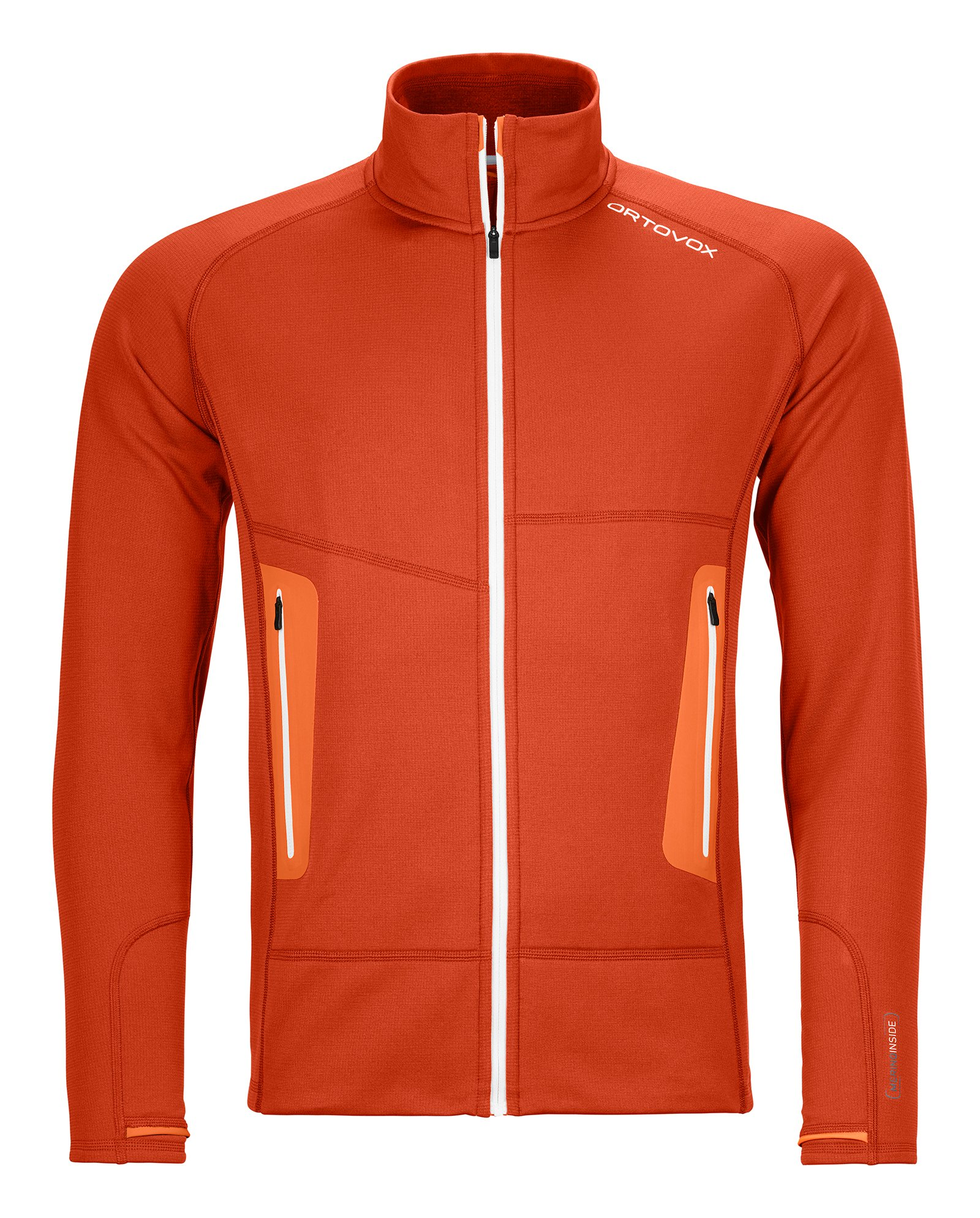 "Ortovox ""Fleece Light Jacket M"" - desert orange"