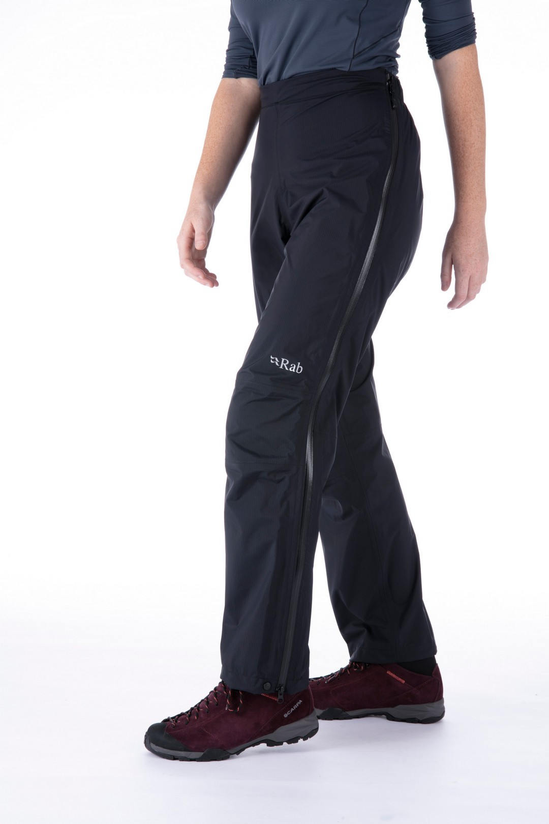 """Rab """"Downpour Plus Pants Wmn"""" - black"""