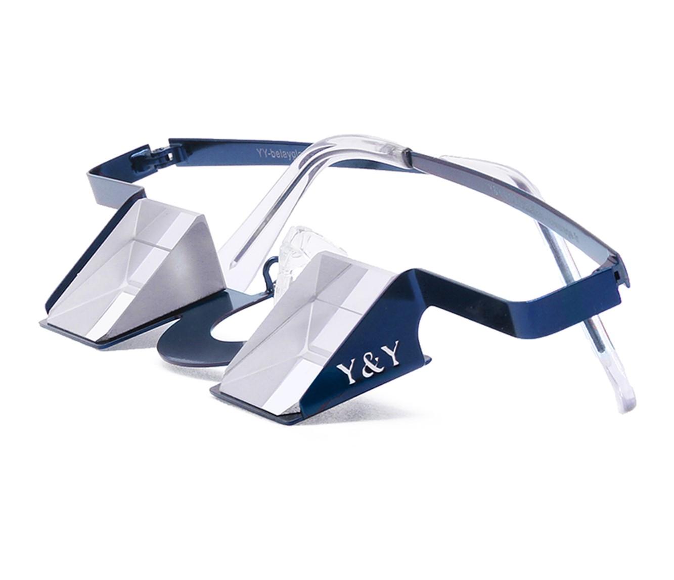 "Y&Y Vertical Sicherungsbrille ""Classic"" - blue"