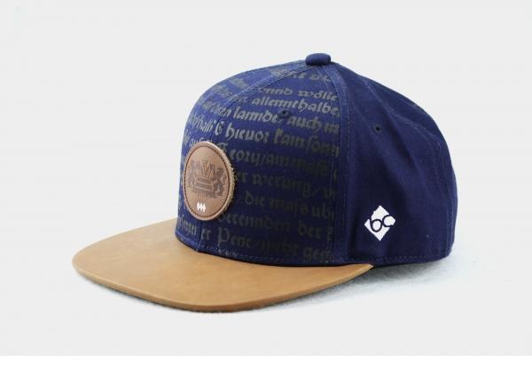 """Bavarian Caps """"Bayerisches Bier""""- blau"""