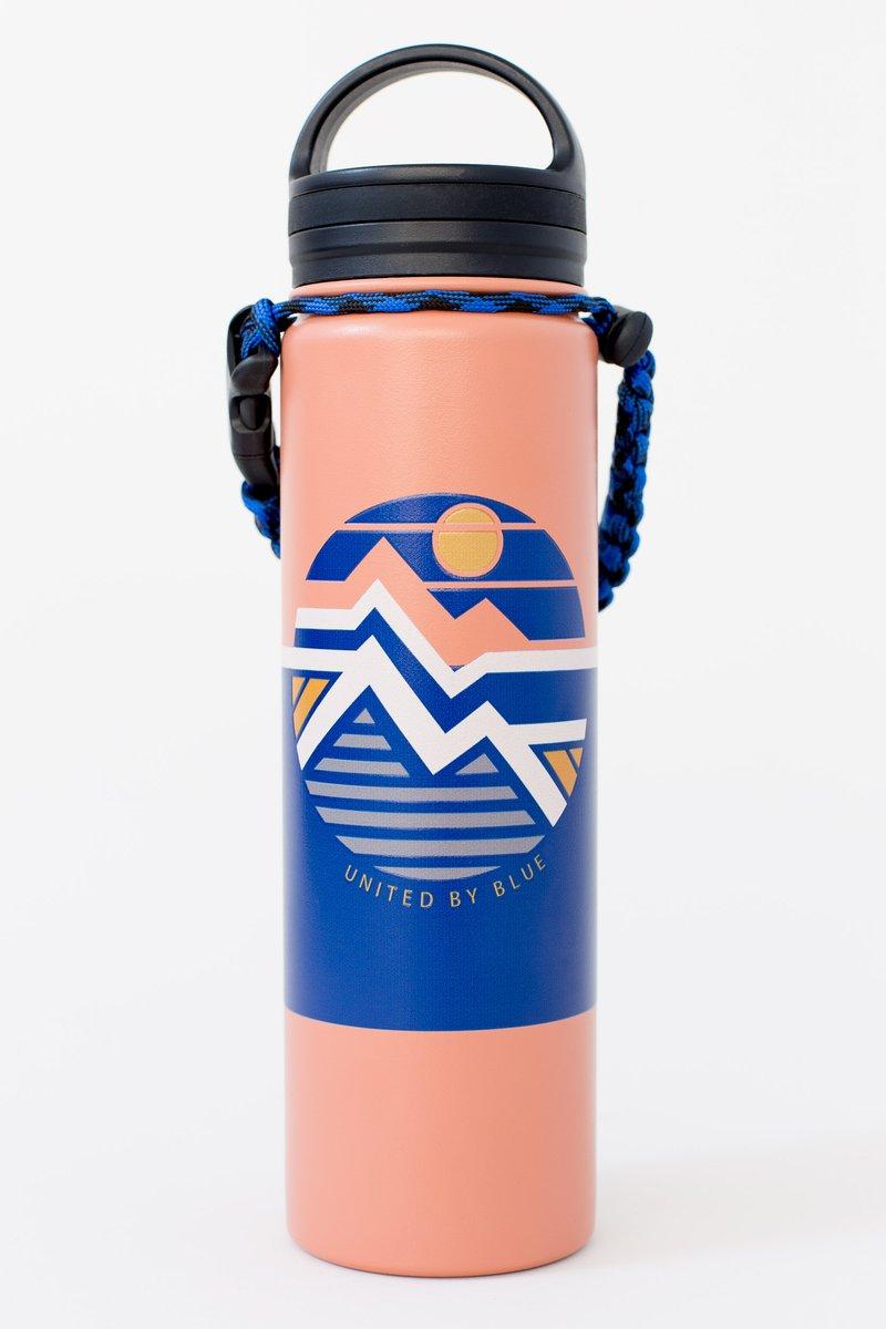 "United by Blue ""Geo Mountain Bottle"""